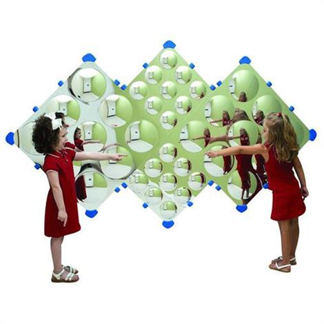 "Childrens Factory Diamond Bubble Wall,90"" x 54"",Each,CF332-573"