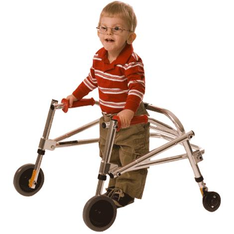 Kaye Posture Control Four Wheel Walker For Small Children,0,Each,W1/2BR