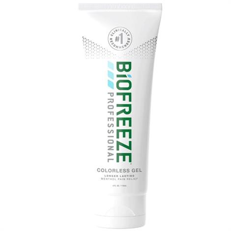 Biofreeze Professional Pain Relieving Gel,4 oz. Tube - Colorless,144/Case,13410