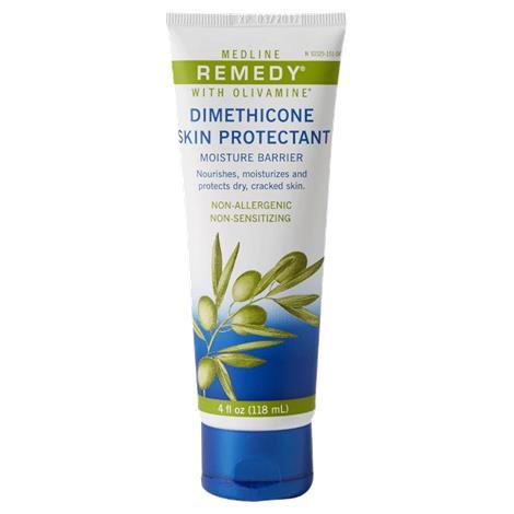 Medline Remedy Olivamine Dimethicone Moisture Barrier Cream,4oz Tube,12/Case,MSC094514