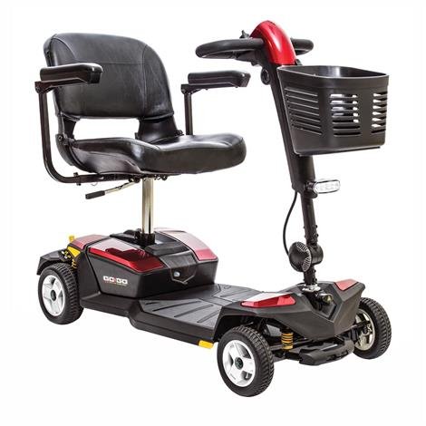 Pride Go-Go LX Four Wheel Travel Mobility Scooter With CTS Suspension,0,Each,S54LX