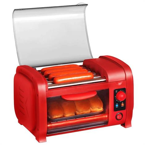 Elite Cuisine Hot Dog Roller Toaster Oven,Hot Dog Roller/Toaster Oven,Each,EHD 051R EHD 051R