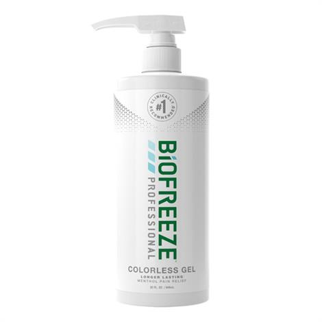 Biofreeze Professional Pain Relieving Gel Pump,16 oz,Green,24/case,13425