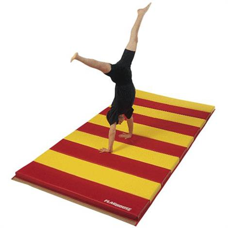 Flaghouse Deluxe Instructor Mat With 4 Sided Hook And Loop Fasteners