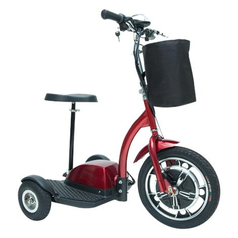 Drive ZooMe Three-Wheel Recreational Scooter,Red,Each,ZOOME3