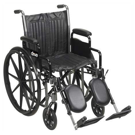 Drive Silver Sport 2 Dual Axle Wheelchair,0,Each,0