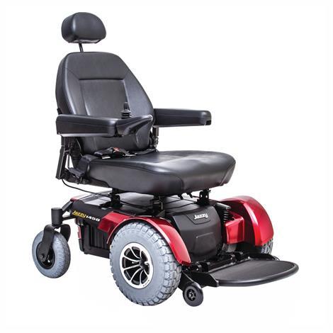 Pride Jazzy 1450 Heavy Duty Power Chair,0,Each,JAZZY 1450