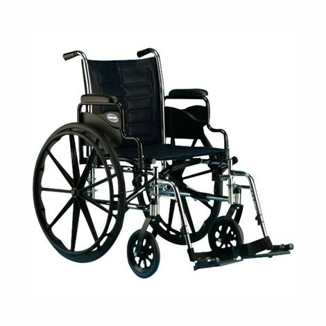 Invacare Tracer IV 24 Inches Desk-Length Arms Bariatric Wheelchair,Each,T4X24RDAP-T94HAP