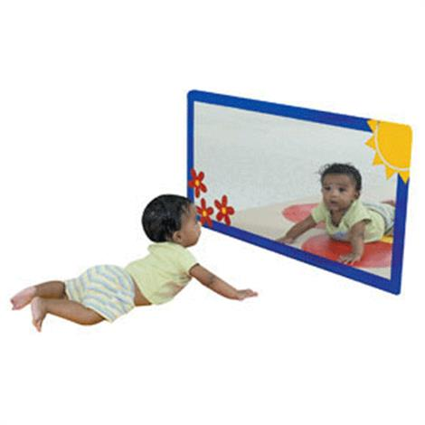"""Childrens Factory Sunny Meadow Mirror,36"""" x 18"""",Each,CF332-578"""