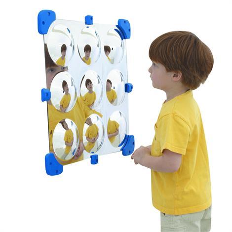 "Childrens Factory Mini Bubble Mirror,18.5"" x 18.5"",Each,CF332-525"