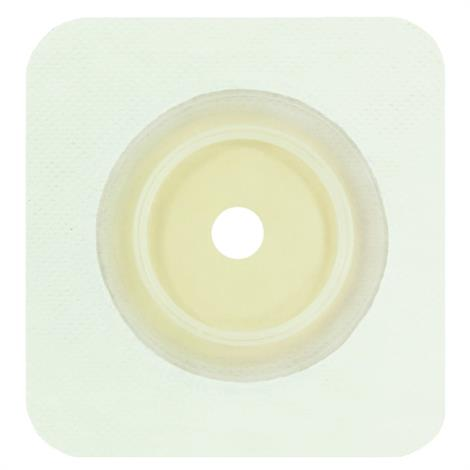 Genairex Securi-T Two-Piece Flat Extended Wear Cut-to-Fit White Skin Barrier Wafer,5/Pack,7804134