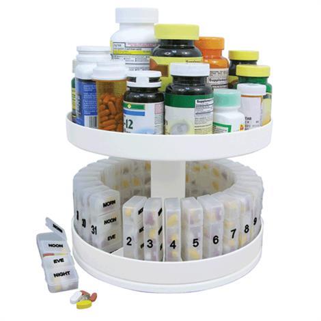 Jobar Revolving Medicine Center,10 Inches Diameter,1000/Box,JB6300