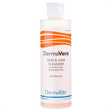 Dermarite DermaVera Skin and Hair Cleanser,1 Gallon,4/Case,17