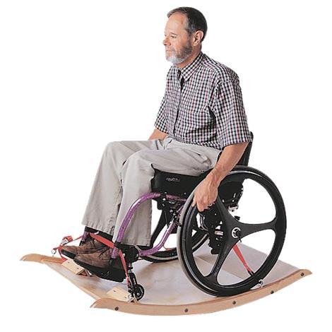 Challenge Platform Wheelchair Rocker,48 L x 30 W,Each,35903