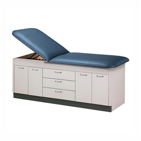 Clinton Style Line Cabinet Laminate Treatment Table with Doors and Drawers,0,Each,9107-38