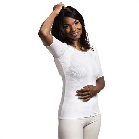Wear Ease Andrea Compression Shirt With Axilla Pads,0,Each,0