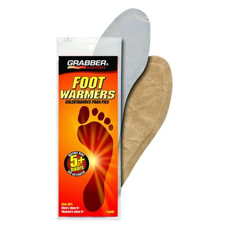 Grabber Full Insole Foot Warmers,Small/Medium,30/Pack,Fwsmes