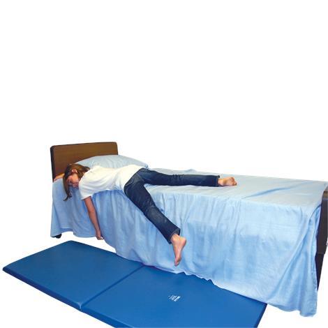 "Skil-Care Soft-Fall Folding Bedside Mat,68""L x 24""W x 2""H,Each,911546"