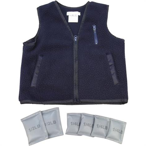 Weighted Vest,Large,For Age: 7 to 11,Each,3953L