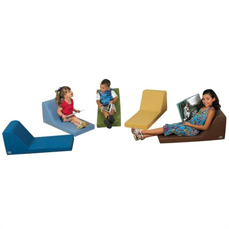 """Childrens Factory Cozy Woodland Loungers Set,Set of 5,34"""" x 15"""" x 14"""",Each,CF349-046"""
