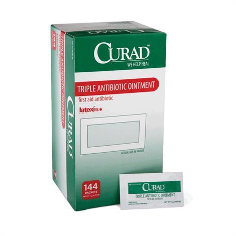 Medline Curad TripleCream,1oz,Tube,12/Pack,CUR001231