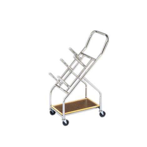 "Iron Disc Weight - Mobile Cart,24"" x 43"" x 14"",Each,10-0616"