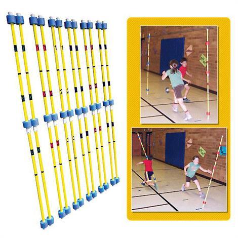 Balancing Poles Game Set,6' Length,12/Pack,18265