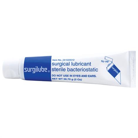 Nycomed Fougera Surgilube Lubricating Jelly,2oz,Tube,12/Pack,0168-0205-02