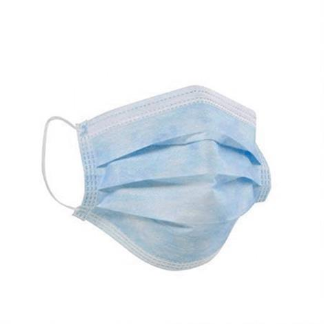 Gen 3-Ply Protective Pleated Face Mask With Earloops,3-Ply Earloop Mask,50/Pack,10 Pack/Case ($0.99 Each),GEN3PLY
