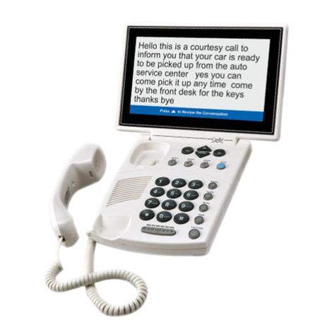 Harris Communications CapTel 880i Low Vision Captioned Telephone,Low Vision Captioned Telephone,Each,880i