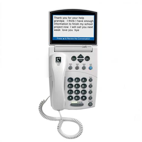 Harris Communications CapTel 840 Captioned Telephone,Captioned Telephone,Each,840