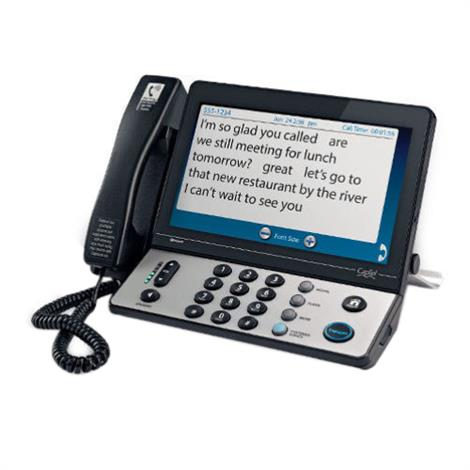 Harris Communications CapTel 2400i Touch-Screen Captioned Telephone,Touch-Screen Captioned Telephone,Each,2400i