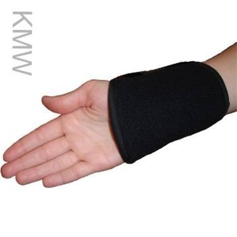 Polar Kool Max Cooling Wrist Wraps,Black,Each,KMW-PAIR-BLK