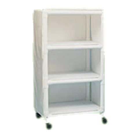 Duralife Mini Linen Cart With Removable Shelves,0,Each,525-3