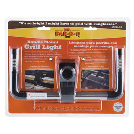 Mr. Bar.B.Q 12 LED Handle Mount Grill Light with Clamp,Grill Light With Clamp,Each,40262X