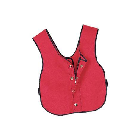 "Multi Task Dressing Vest,Child,14""W x 17-1/2""L,Red,Each,929000"