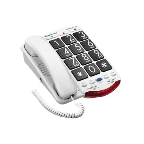 "Jumbo Size Braille Phone,2-3/4"" x 9-1/4"" x 7-1/4"" (7cm x 23cm x 18cm),Each,920457"