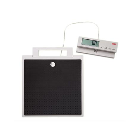 """Seca Flat Scale with Cable Remote Display,12.6""""W x 2.4""""H x 14""""D (321mm x 60mm x 356mm),Each,SECA869"""