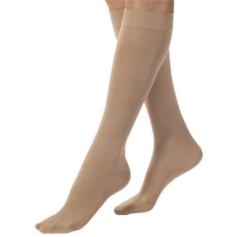 BSN Jobst Medium Closed Toe Knee-High 30-40mmHg Extra Firm Compression Stockings,Black,Pair,115169 BSN115169
