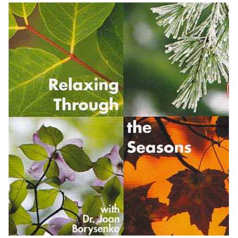 Stress Stop Relaxing Through The Seasons Cd And Dvd,Relaxation Dvd,Each,Rx7