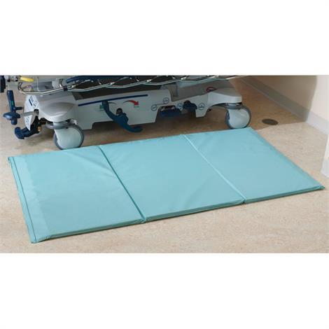 """Rolyan Beveled Tri Fold Floor Cushion With AEGIS,72""""L x 38""""W x 1""""H,Each,81545078"""