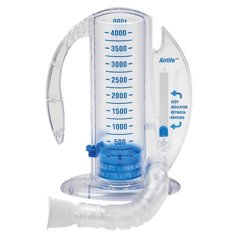 CareFusion AirLife Volumetric Incentive Spirometer With One-Way Valve,2500mL,Pediatric Use,Each,001903A