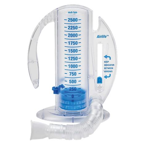 CareFusion AirLife Volumetric Incentive Spirometer Without One-Way Valve,Capacity: 2500mL,Each,001904A