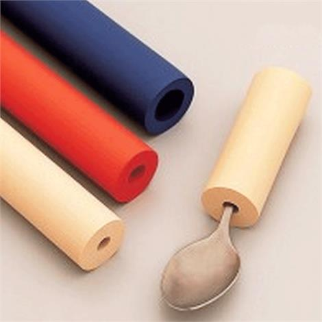 North Coast Colored Foam Tubing,Bright Color - Tan,Red,Blue(Two of each),6/Pack,NC35012