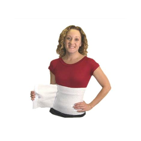 """Expand-A-Band 12 Inches Wide White Abdominal Binder,Medium: 38"""" - 54"""",Each,Abind-46-12-W - from $25.00"""