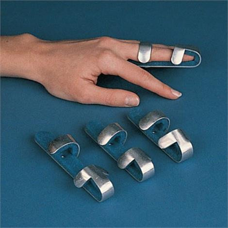 Rolyan Baseball Aluminum Padded Finger Splint,Medium,4