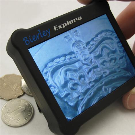 Bierley Explora Electronic Magnifier,Explora,Magnification: 4.5x,Each,EX-N