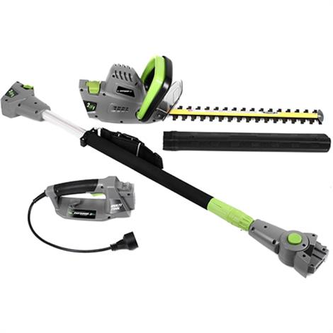Earthwise 2-In-1 Convertible Pole Hedge Trimmer,Pole Hedge Trimmer,Each,CVPH43018