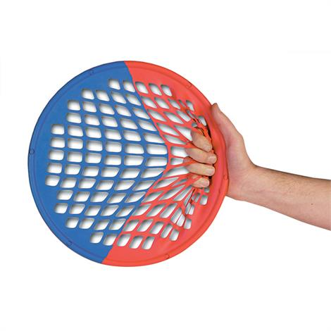 Fitterfirst Power Web Combo Hand And Wrist Exerciser,Light/Heavy (red/blue),Each,PWRB FIPWRB