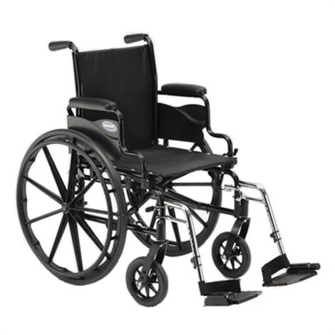 "Invacare 9000 SL 16 Inches Desk Arms Wheelchair,Seat 16""W x 16""D,Without Footrest or Legrest,Each,9153634745"